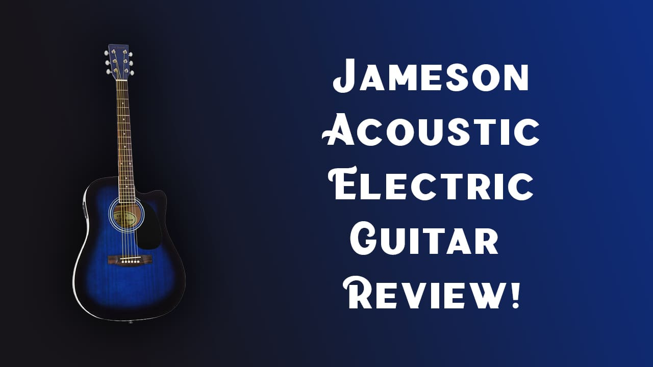 Jameson Acoustic-Electric Guitar Review! – Full Size Thinline Guitar